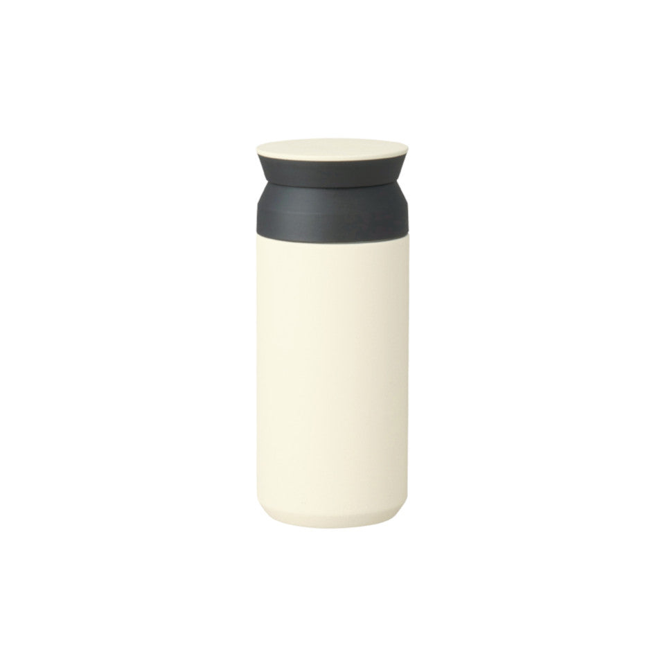 Travel tumbler, white, 350 ml.