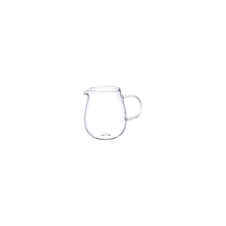 Unitea mini glass milk jug.