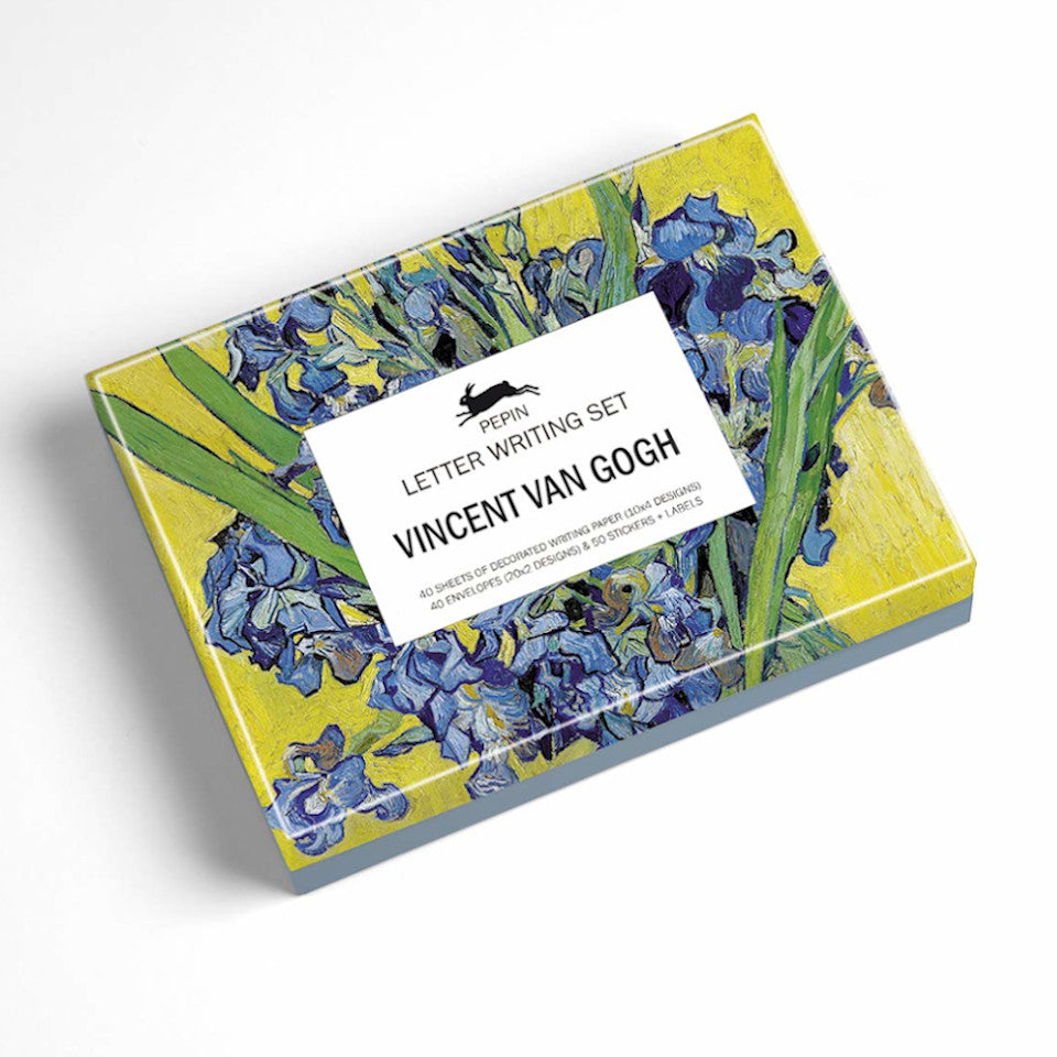 Vincent Van Gogh letter writing set box.