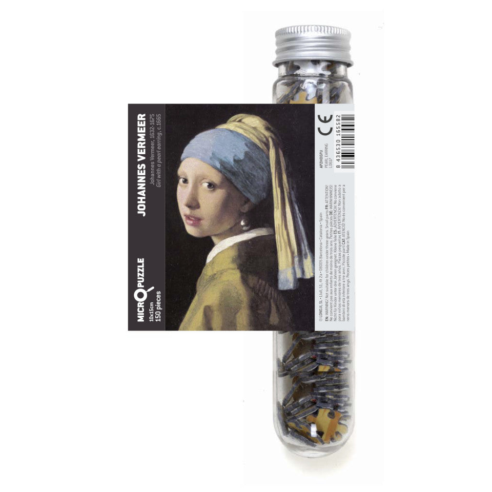 Vermeer, Pearl Earring, 150 piece micropuzzle jigsaw