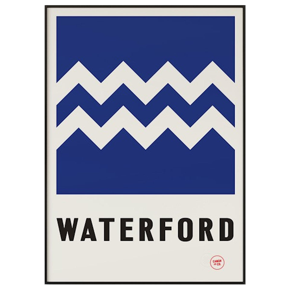 Waterford County Series 50 cm x 70 cm print.