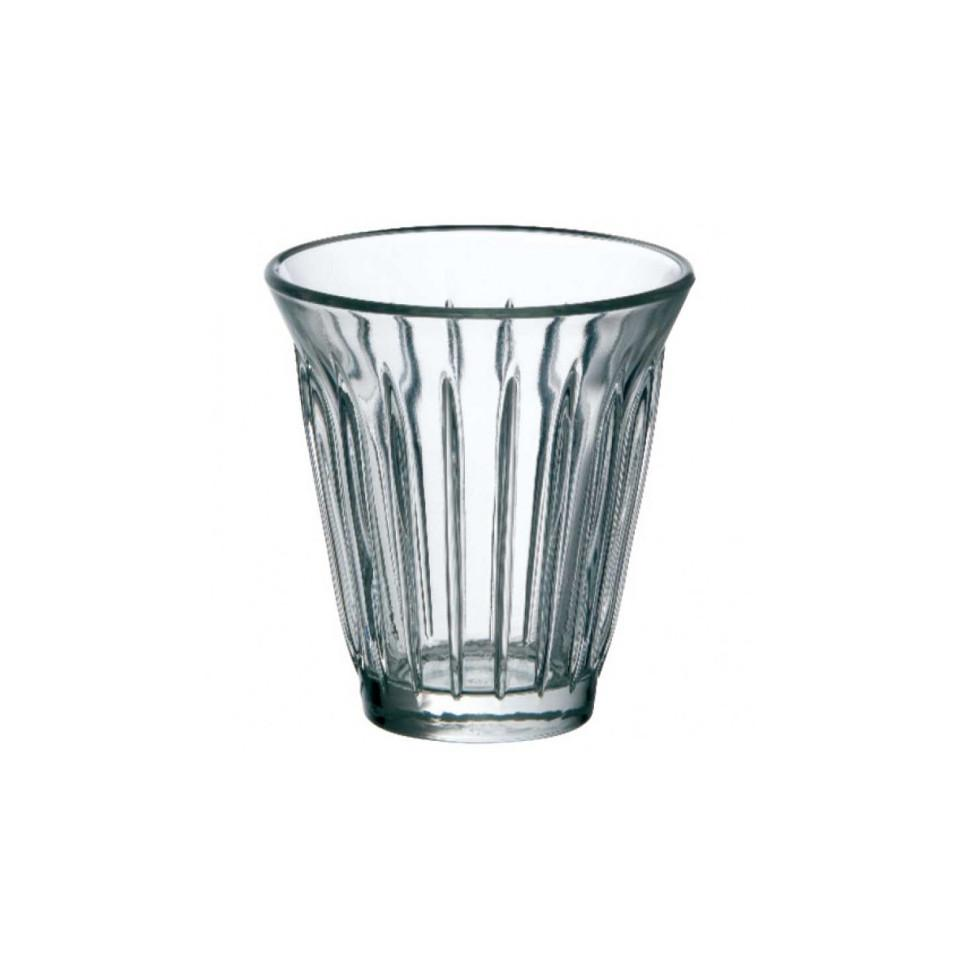 Zinc coffee glass.