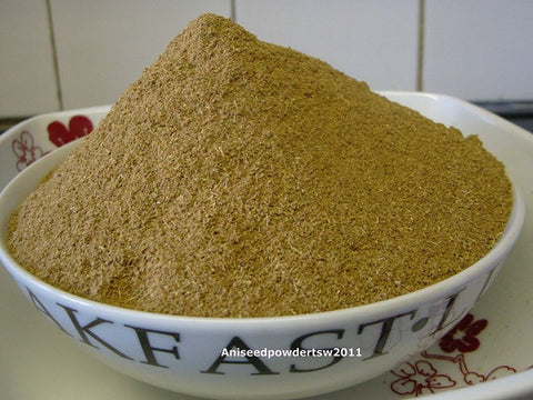 Aniseed dried ground powder