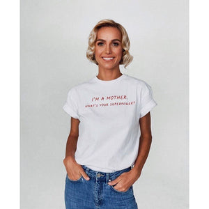 Best Seller | POWERFUL MOTHER | T-Shirt