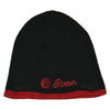 Biston fashion accessories - beanie πλεχτός σκούφος με brand logo lurex 18-601-009 - brands4all