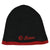Biston fashion accessories - beanie πλεχτός σκούφος με brand logo lurex 18-601-009