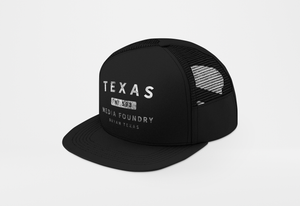 Trucker Hat - Texas Media Foundry Truck Poster Canvas