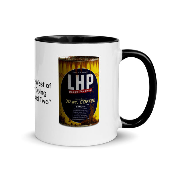 Long Haul Paul - 30 Weight Coffee Official Mug - Texas Media Foundry Truck Poster Canvas