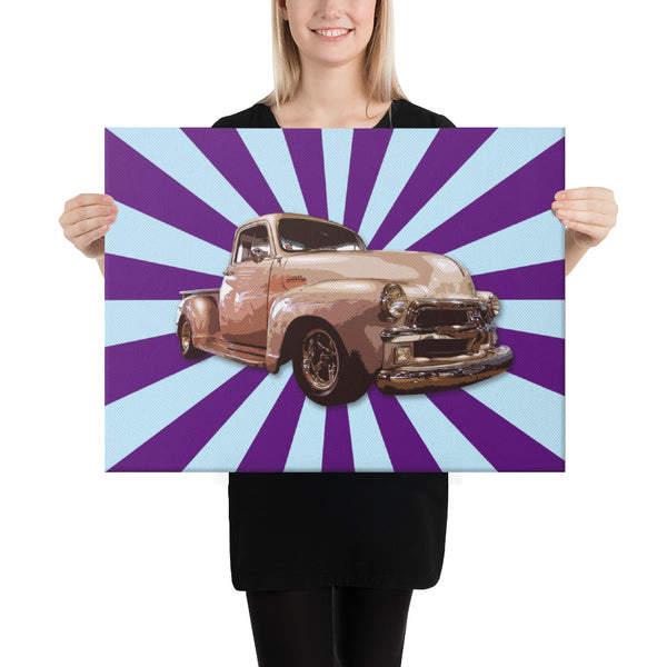 Trukkake II - Canvas - Texas Media Foundry Truck Poster Canvas