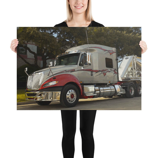Chrome Boy - Poster - Texas Media Foundry Truck Poster Canvas