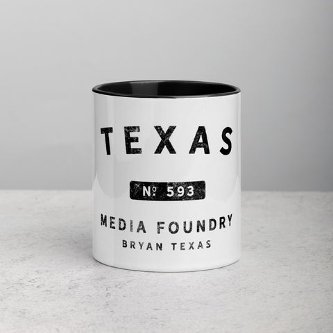 Texas Media Foundry - Coffee Mug - Texas Media Foundry Truck Poster Canvas