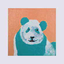 Load image into Gallery viewer, Panda in Peach