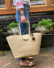 Load image into Gallery viewer, Handmade Basket Tote