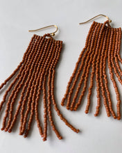 Load image into Gallery viewer, Beaded Fringe Earrings
