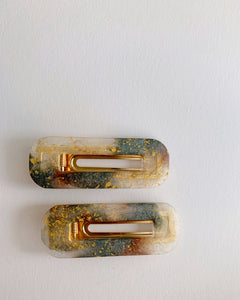Resin Barrettes
