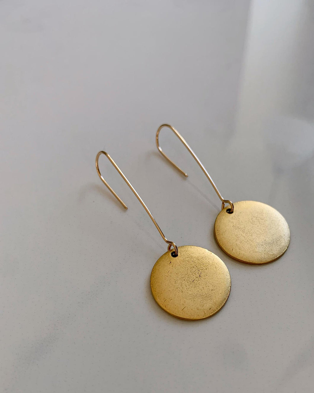 Tag Earrings (Small)