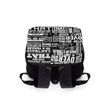 Load image into Gallery viewer, Stop Crying Over Men... - Casual Shoulder Backpack