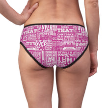 Load image into Gallery viewer, Stop Crying Over Men... - Women's Briefs