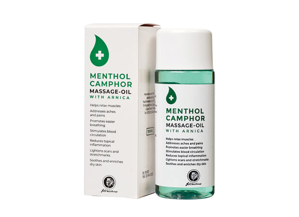Menthol Camphor Massage Oil with Arnica 100ML