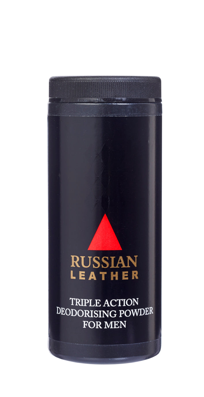 Russian Leather  Talc
