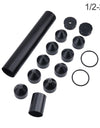 1/2-28 Napa 4003 Filter, Black - Solvent Trap Kit Aluminum Solvent Trap Fuel Filter For WIX 24003