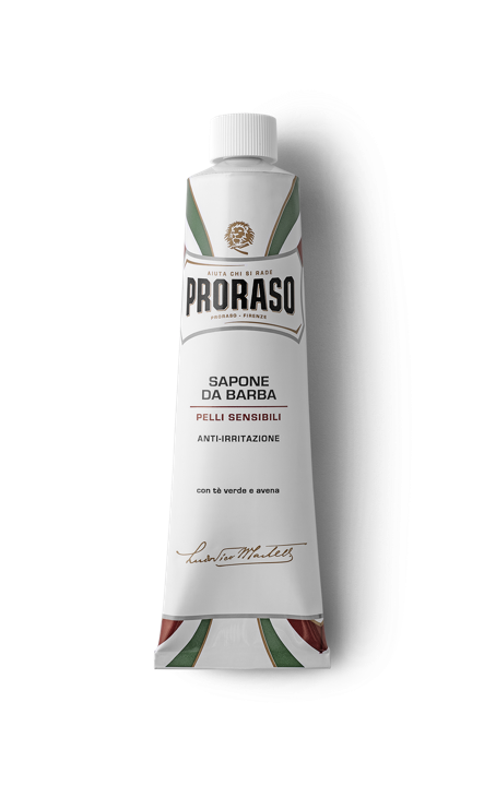 Proraso White Sensitive Shave Cream Tube