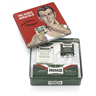 Proraso Vintage Selection Gift Set Green