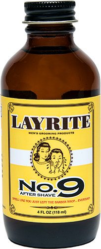 Layrite No 9 Bay Rum Aftershave