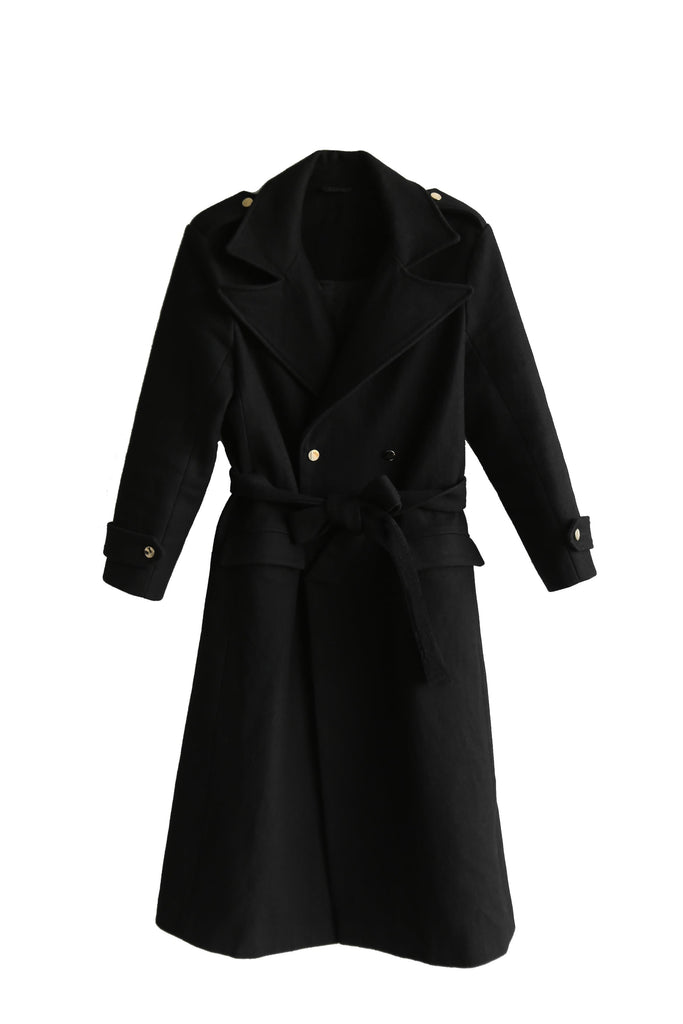 Âme wool coat - Mäele
