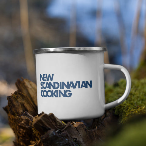 New Scandinavian Cooking - Enamel Mug
