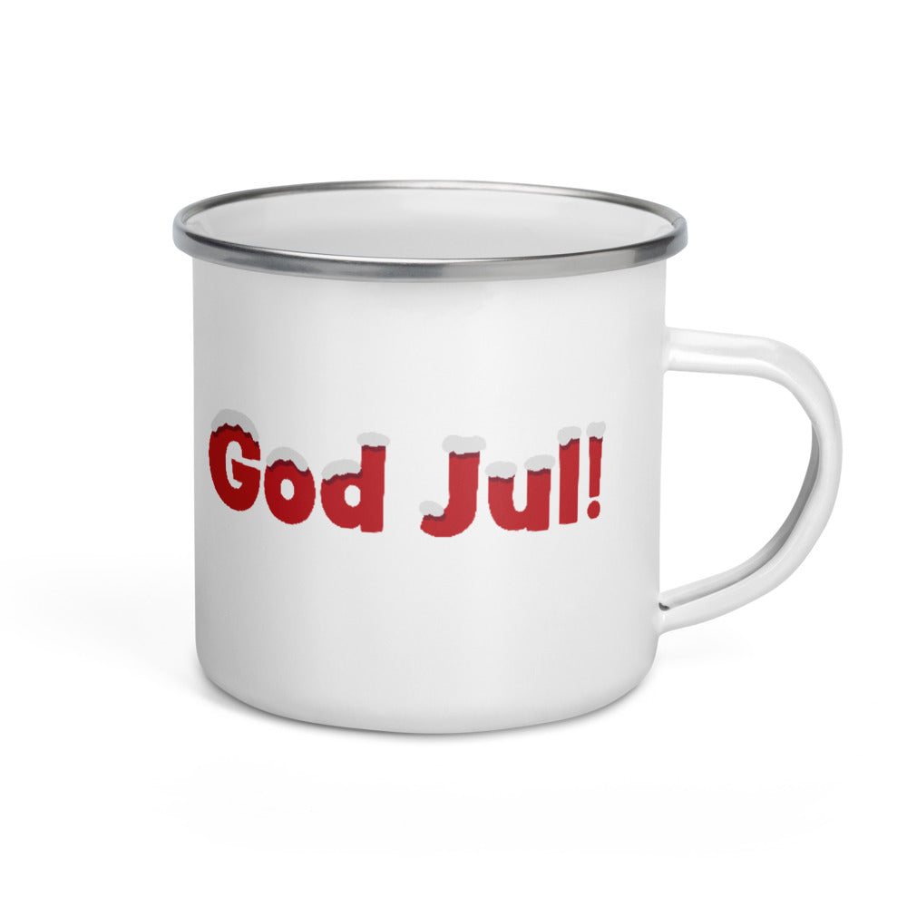 God Jul! - Enamel Mug