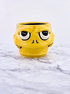 Yellow Tie Die McFry, Monster Mug