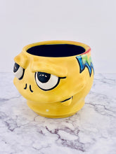Load image into Gallery viewer, Yellow Tie Die McFry, Monster Mug