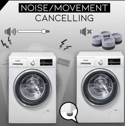 Shock And Noise Cancelling Washing Machine Support - ZZSales