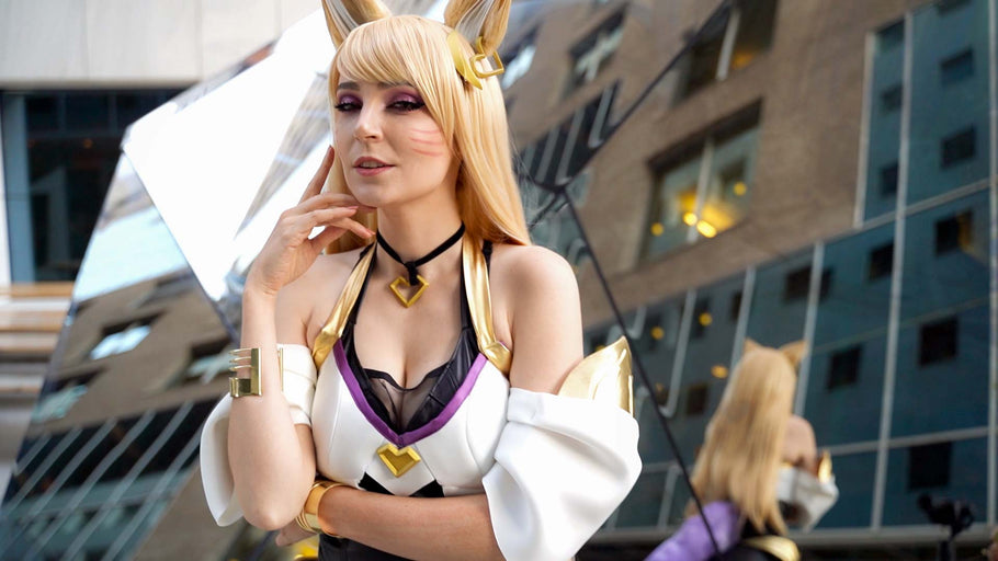 K/DA Ahri Cosplay White Top Tutorial
