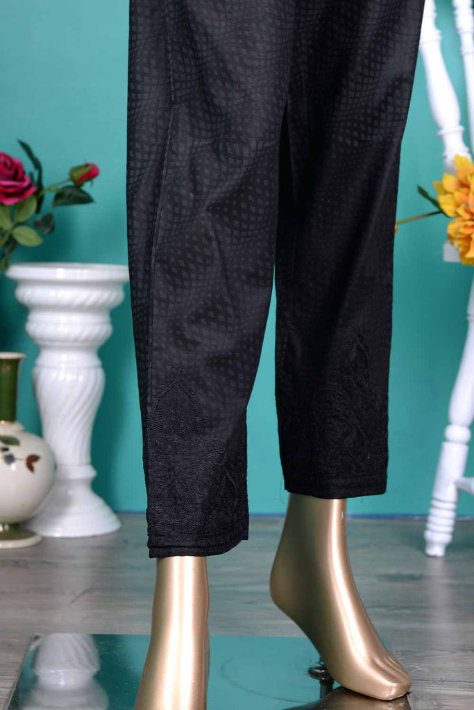 Cambric Printed & Embroidered Trouser | Brio (GP-25A)