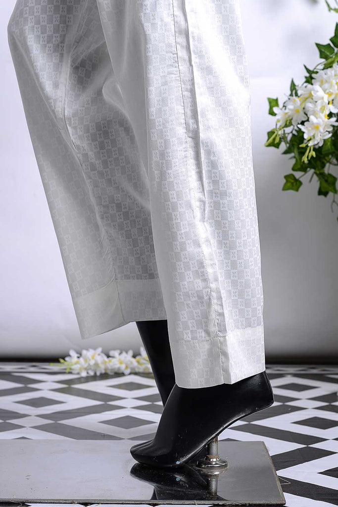 Cambric Printed Trouser | Butterfly Offwhite (GP-29A)
