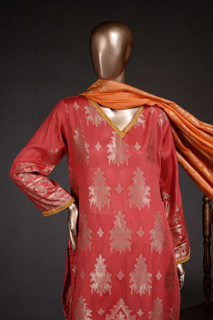 Amigo (BD2-07) 3-Piece Un-stitched Jacquard Banarsi Lawn Dress