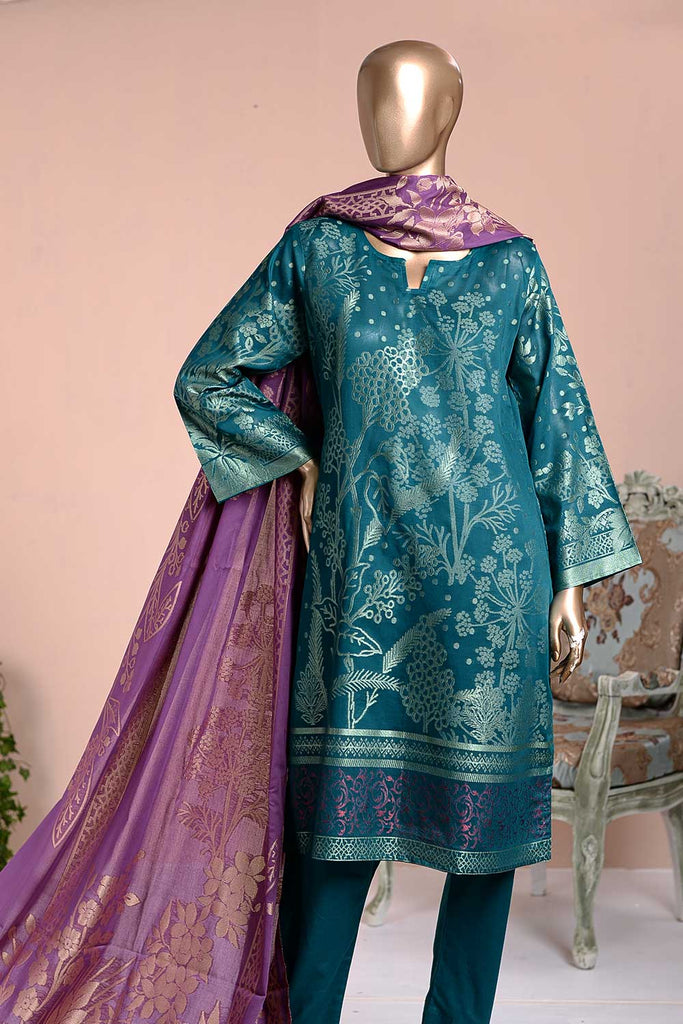 Gorgeous Deneb (BD3-01) 3-Piece Un-stitched Jacquard Banarsi Lawn Dress