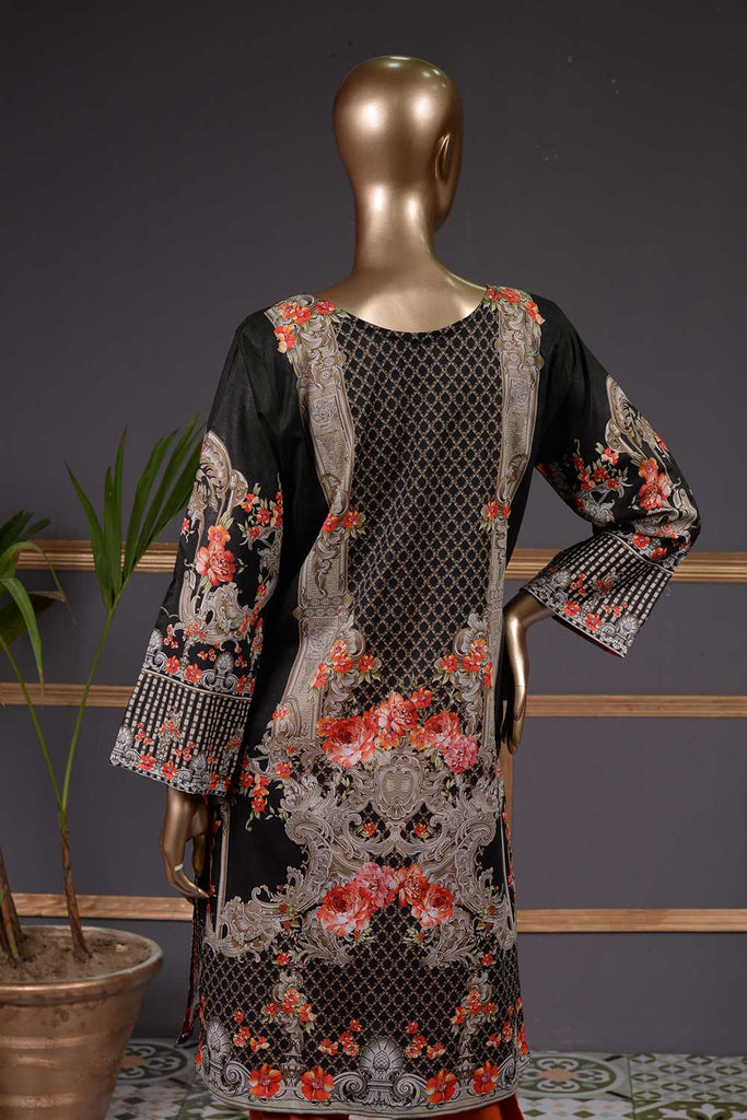 Jazzy Mix (NL-05) 3 Piece Un-stitched Lawn Digital Printed Dress