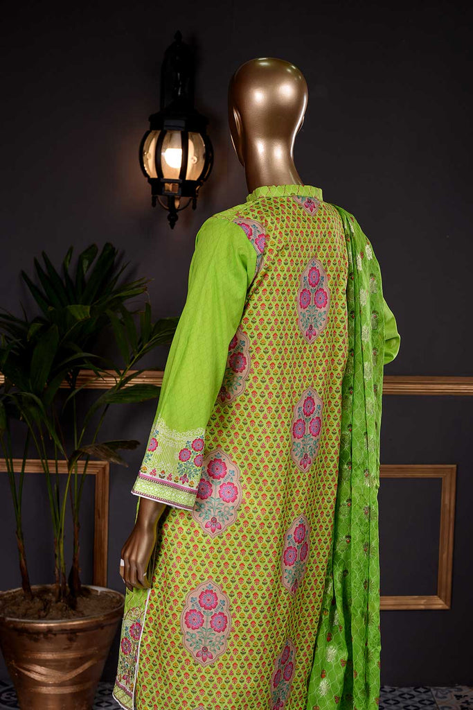 Windy Aura (PD-05) 3 Pc Unstitched Digital Embroidered Lawn Dress