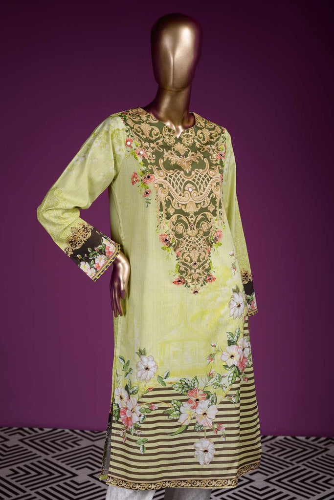 Primordial Flair (PR2-09) Lawn Un-stitched Digital Printed & Hand Embroidered Kurti