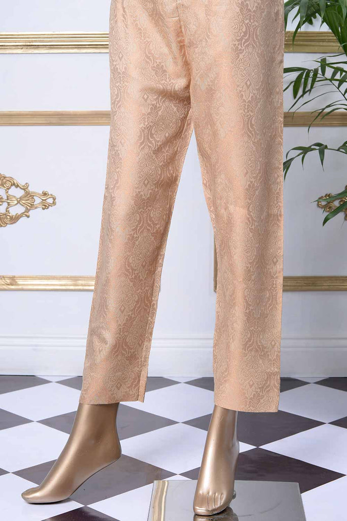 Banarsi Cotton Silk Stitched Trouser | (BT-1A)