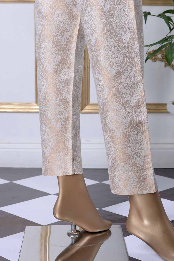 Banarsi Cotton Silk Stitched Trouser | (BT-1B)