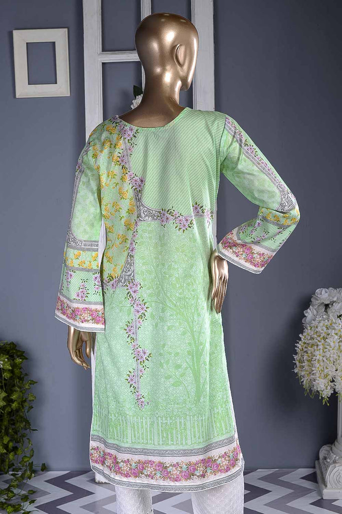 Luminous (F2-05) | Un-stitched Digital Printed & Embroidered Cambric Suit