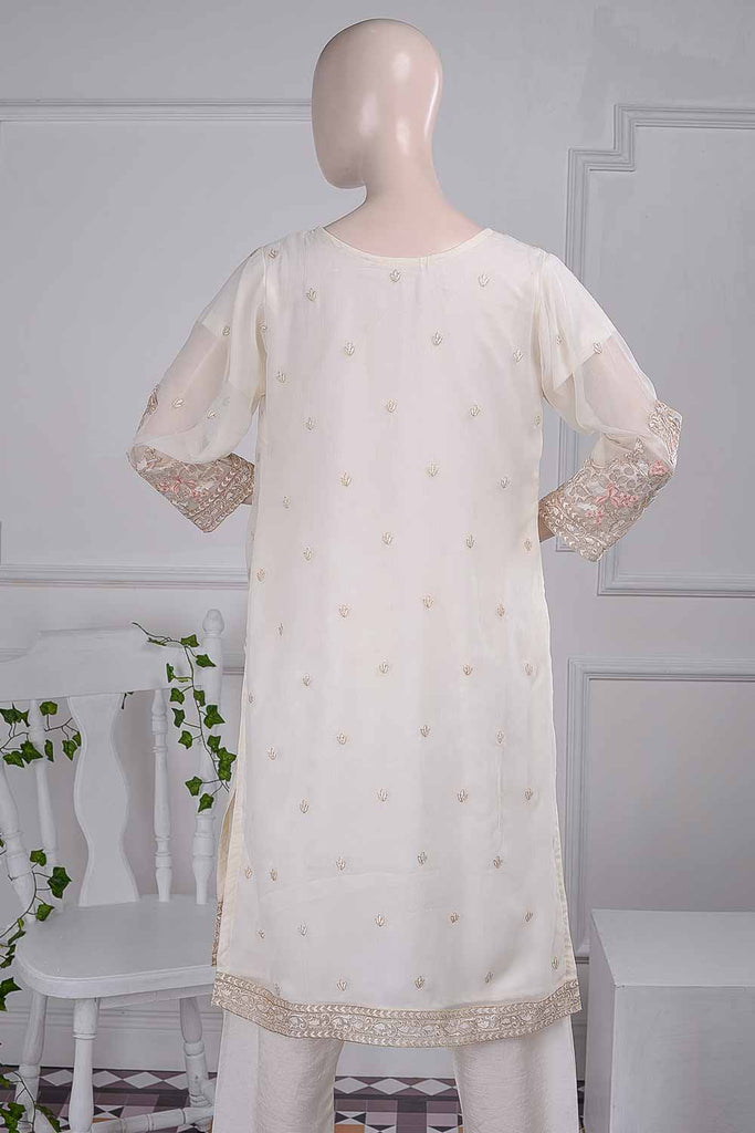 Blithesome (G5-3B) | Embroidered Un-stitched Chiffon Dress with Embroidered Chiffon Dupatta