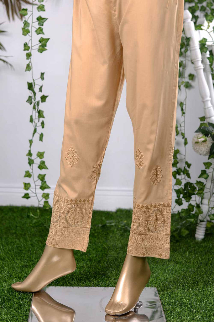 Cambric Embroidered Trouser | Roxanne (GP-4D)