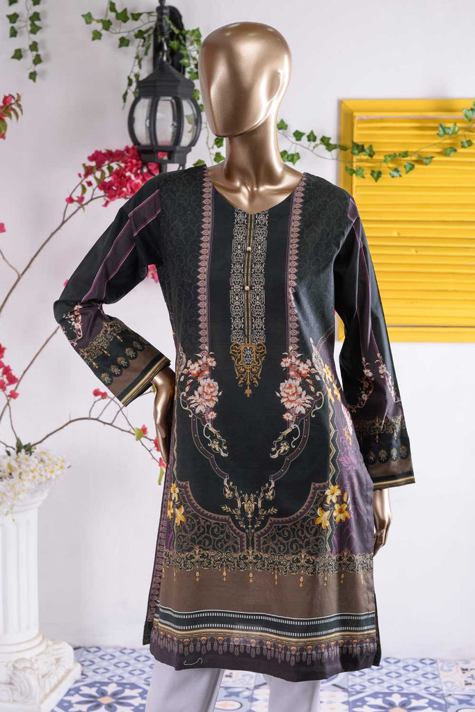 Dark Vibes (PR3-03) 1 Pc Lawn Digital Printed Kurti