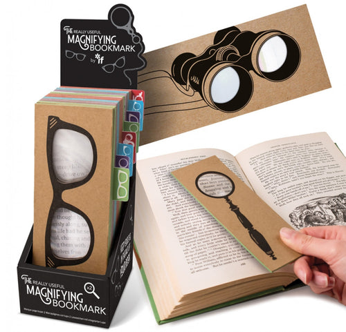 The Really Useful Magnifying Bookmarks