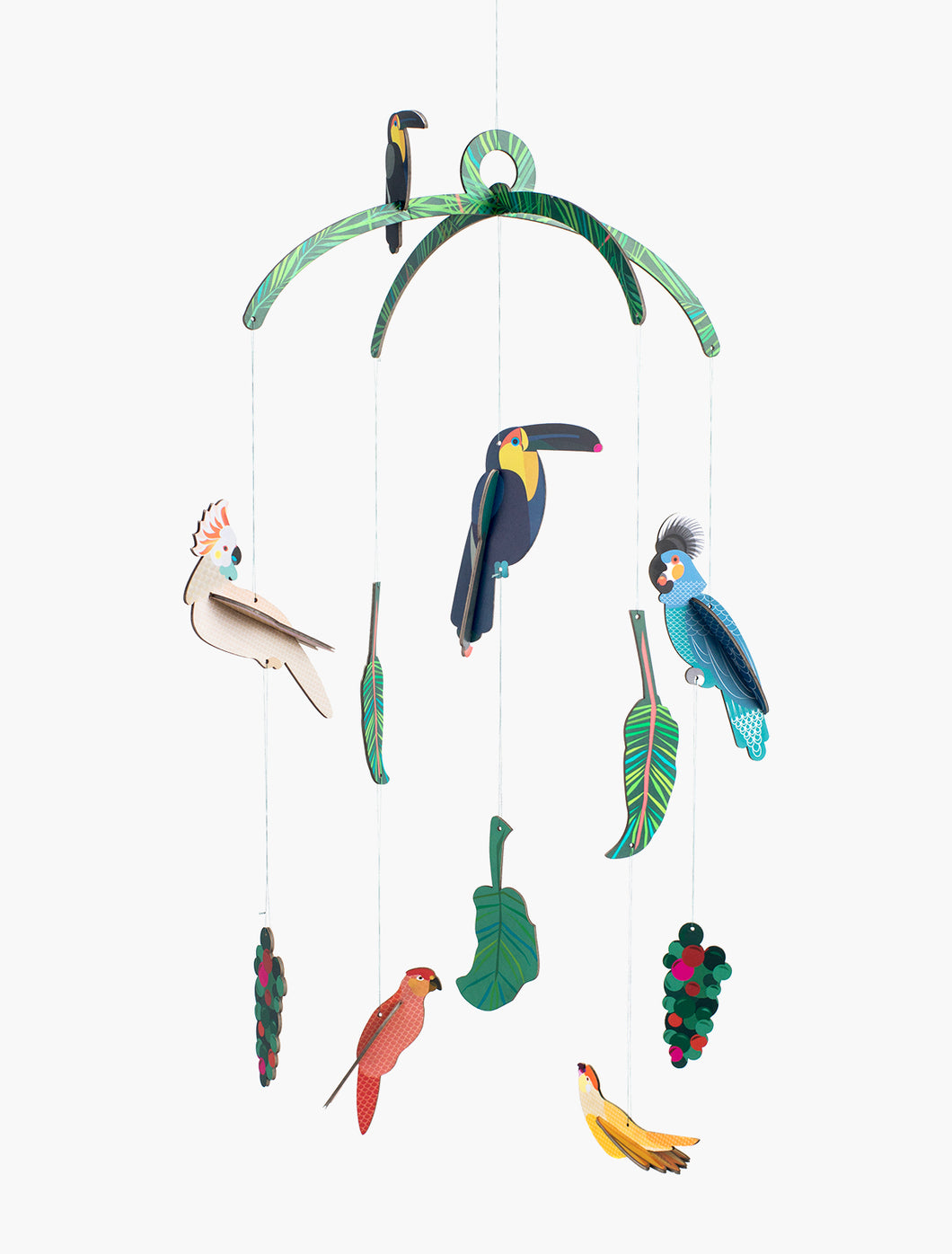 Mobiel 'Exotic birds'